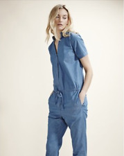 Selected Jeans Overall Blau 34 NEU Baumwolle Jumpsuit Blue Denim Topshop XS NEW