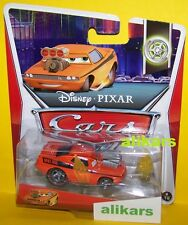 B - SNOT ROD WITH FLAMES - TUNERS Series Disney Pixar Mattel Cars auto die-cast
