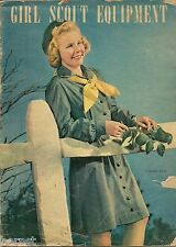 VINTAGE 1946 GIRL SCOUT EQUIPMENT CATALOG - 39 PAGES - FREE SHIPPING