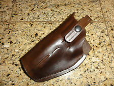 """HAUGEN LEATHERS Model 33 BELT HOLSTER FOR S&W 4"""" REVOLVERS THUNDER RANCH .45 ACP"""