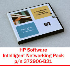 HP ESSENTIAL INTELLIGENT NETWORKING PACCO PROLIANT 372906-B21 SOFTWARE SERVER S3