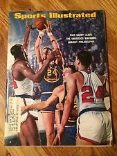 HISTORIC RICK BARRY GOLDEN STATE WARRIORS Sports Illustrated 1967 NBA Curry
