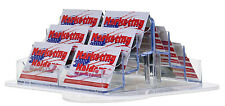 NEW 12 Pocket Clear Acrylic Rotating Business Card Holder Countertop Display