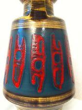 Dümler Breiden Keramik Vase 30 cm mid century 60er 60s carstens