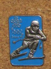 A50 VINTAGE PIN  OLYMPIC OLYMPIQUE  SKI  CALGARY