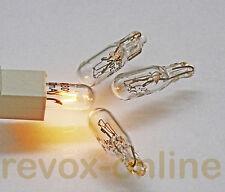 4 Lampen, Lämpchen, 24V 30mA, für alle Revox B760 Tuner, NEUWARE mit Garantie