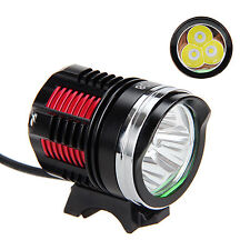 9000Lm 3X CREE XM-L R8 LED Head Front Bicycle Lamp Bike Light Headlight Headlamp