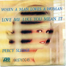 PERCY SLEDGE WHEN A MAN LOVES A WOMAN LOVE ME LIKE YOU MEAN IT EX+ EX-