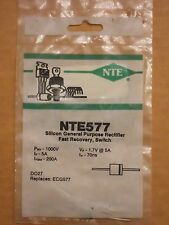 NTE577 ECG577 1000V 5A General Purpose Rectifier Diode Fast Recovery Switch NEW