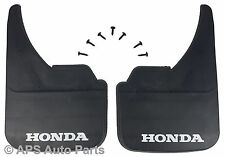 Universal Car Mudflaps Front Rear Honda Branded Prelude S2000 Mud Flap Guard