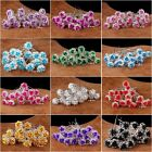 Fashion Women Rose Flower Crystal Wedding Party Bridal Hair Pin Clips