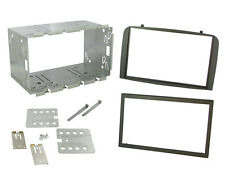 CT23AR03 Alfa Romeo GT 05-14 Car Stereo Double Din Fitting Facia Kit Dark Grey
