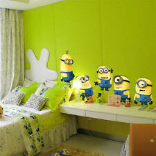 5 MInions Wall Sticker Art Wallpaper Decal Home Kid Room Christmas Decorate Gift