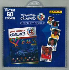 Chile version 2015 Panini Copa America Soccer Blister with 60 stickers