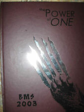 2003 Yearbook BASTROP MIDDLE School BMS Texas BOOK year