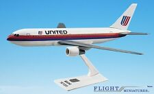 United (76-93) 767-200 Airplane Miniature Model Plastic Snap-Fit 1:200