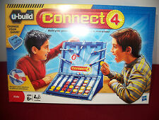 CONNECT 4 FOUR U-Build Game Bumpers More Exciting than the Original! 4-in-a-Row