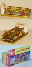 Matchbox A-1 Service Ramp, gold, Castrol, Matchbox King Size, OVP