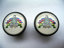 Litespeed handlebar bike caps, Litespeed Bike frame logo end plugs, Litespeed
