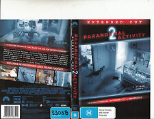 Paranormal Activity:2-Extended Cut-Katie Featherston-Movie-DVD