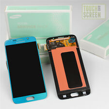 100% Original Samsung Galaxy S6 SM-G920F Display Screen blau blue