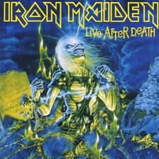 "IRON MAIDEN ""LIVE AFTER DEATH"" 2 CD ENHANCED NEW+"