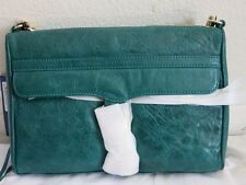 Rebecca Minkoff MAC clutch Teal purse cross body green H007I01C NEW bag shoulder