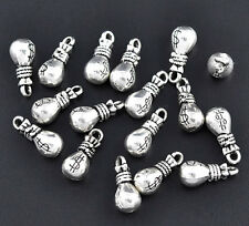 10pcs Tibetan Silver  purse Charm Pendant Bead Jewellery Making 15*6mm