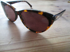 Luli Fama brown tortoiseshell cat's eye glasses / sunglasses frames. Eye Candy.