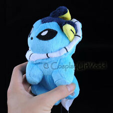 Vaporeon Water Pokemon Eevee Evolution Soft Plush Toy Gift Collectible PKM #134