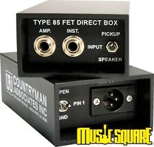 COUNTRYMAN DT-85 DIRECT BOX CLASSIC DI ~ Best Deal on the Web!