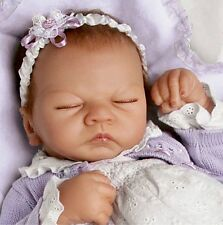 SHH! BABY IS SLEEPING - Feel her Breath! 22 Inch Collectors Life Like Girl Doll