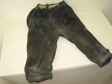 Schöne alte Lederhose, Größe / Bund 38 cm Länge 74 cm schönes Dekor