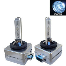 A Pair D1S D1R D1C 10000k HID Xenon OEM Headlight Replacement Light Bulbs AC 35W