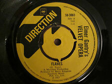 Elmer Gantry's Velvet Opera ‎– Flames / Salisbury Plain - UK Direction 1967