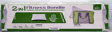 Wii Fitness 2 in 1 Bundle Mat and Travel Bag Yoga Pilates Strength Training 2in1