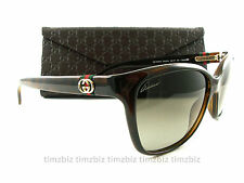 New Gucci Sunglasses GG 3645/S Havana DWJHA Authentic