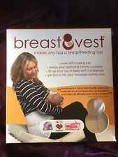 Breastfeeding Vest - Confident Feeding In Your Best Tops -  Black Sz Small 10-12