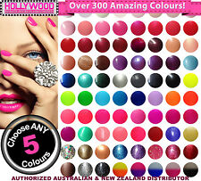 Pick ANY 5 Bluesky UV Gel Nail Polish +2x Remover Wraps (Now over 250+ colours!)