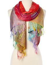 Fashion Women's Silk Scarf Luxury Satin Shawl Wraps