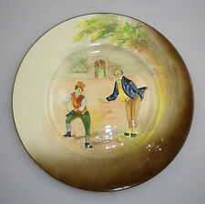 """Royal Doulton Series Ware  Low Relief """" DICKENS '  Pattern  RACK PLATE"""