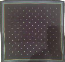 YSL  foulard / gavroche 100% soie  en TBEG vintage  42 x 42 cm