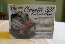 Revell Model Kit Engine Corvette Car 327 Fuel Injected Stand  New