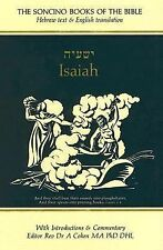 Isaiah: Hebrew Text & English Translation With an Introduction and Commentary (S