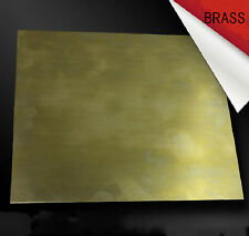 1pcs Brass Metal Sheet Plate 1mm x 100mm x 100mm #E3D02