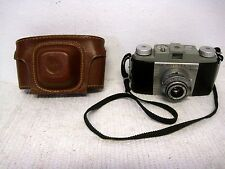 Vintage Kodak Pony 135 Model B 35mm Film Camera w/Original Kodak Case & Manual