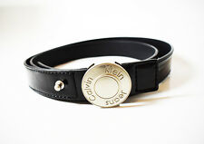 Calvin Klein Jeans Women Belt Medium Size Black CW22BN