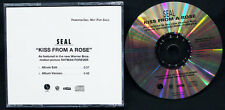 Seal-Kiss From A Rose-2 Versions-Batman Forever-Sire-WB-Vintage 1994 DJ CD Sngl!