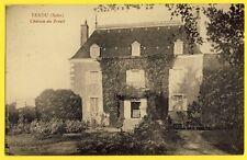 cpa RARE 36 - TENDU (Indre) CHÂTEAU du BREUIL