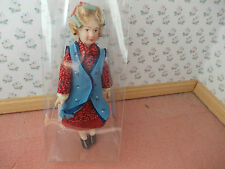 NICE GRANDMA DOLLS WITH CURLERS  FOR A DOLLS HOUSE